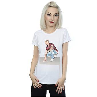Justin Bieber Women's Flannel Photo T-Shirt