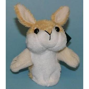 Dowman Rabbit Finger Puppet Soft Toy
