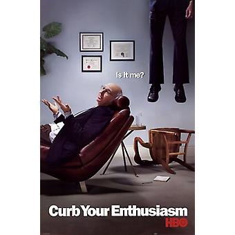 Curb Your Enthusiasm - Is It Me Poster Poster Print