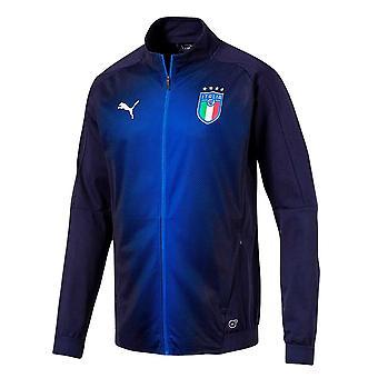 2018-2019 Италия Puma стадион куртка (Peacot)