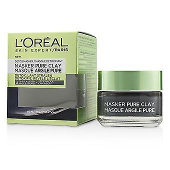 L ' Oreal Skin expert pure Clay Mask-detoxifica & amp; Clarifică-50ml/1.7 oz