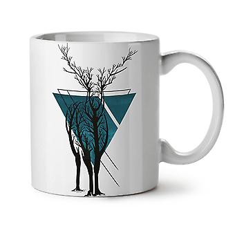 Nature Tree Art Animal NEW White Tea Coffee Ceramic Mug 11 oz | Wellcoda