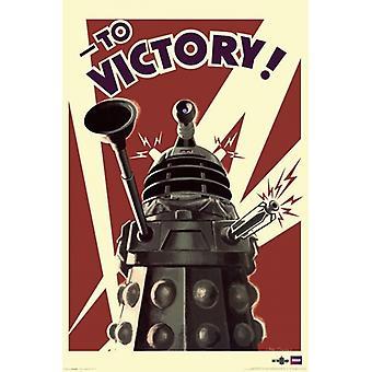 Doctor Who - Dalek para vitória Poster Print (24 x 36)