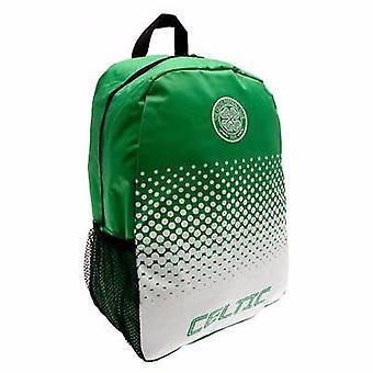Celtic FC officiella Fade fotboll Crest Design ryggsäck