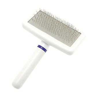 DezynaDog Soft Stroke Gentle Dog Slicker Hair Grooming Brush - Small