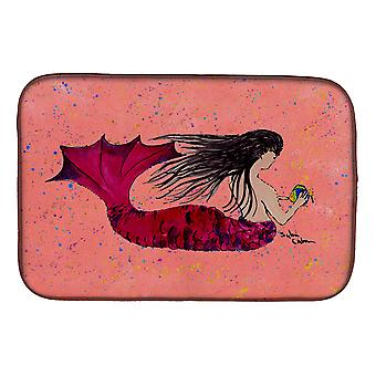 Carolines Treasures  8338DDM Mermaid Dish Drying Mat