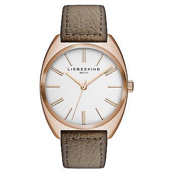 LIEBESKIND BERLIN Unisex Watch wristwatch leather LT-0017-LQ