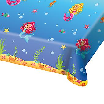 Table cloth tablecloth tablecloth Mermaid kids party birthday 130x180cm