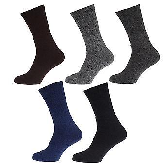 Mens Boot Socks (Pack Of 5)