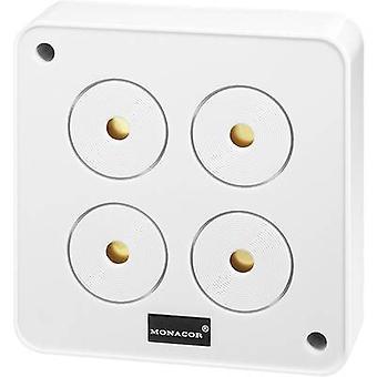 Monacor 40020 AP-4 alarm sounder 120 dB 12 V DC