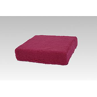 Booster seat cushion stand-up help bordeaux 40 x 40 x 10 cm