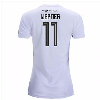 2018-19 المنزل ألمانيا المرأة قميص (فيرنر 11)