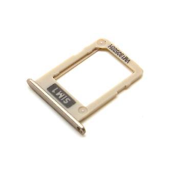 Genuine Samsung Galaxy J3 - SM-J330 - 2017 - SIM Card Tray - Gold - GH61-12796C