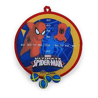 Spiderman game of darts