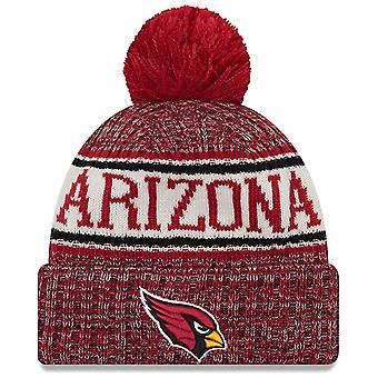 New Era Arizona Cardinals Bobble Hat in Red