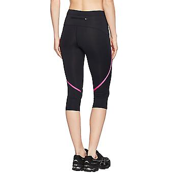 asics Womens 3/4 Cropped Capri Running Gym Yoga Sports Leggings Pants Tight