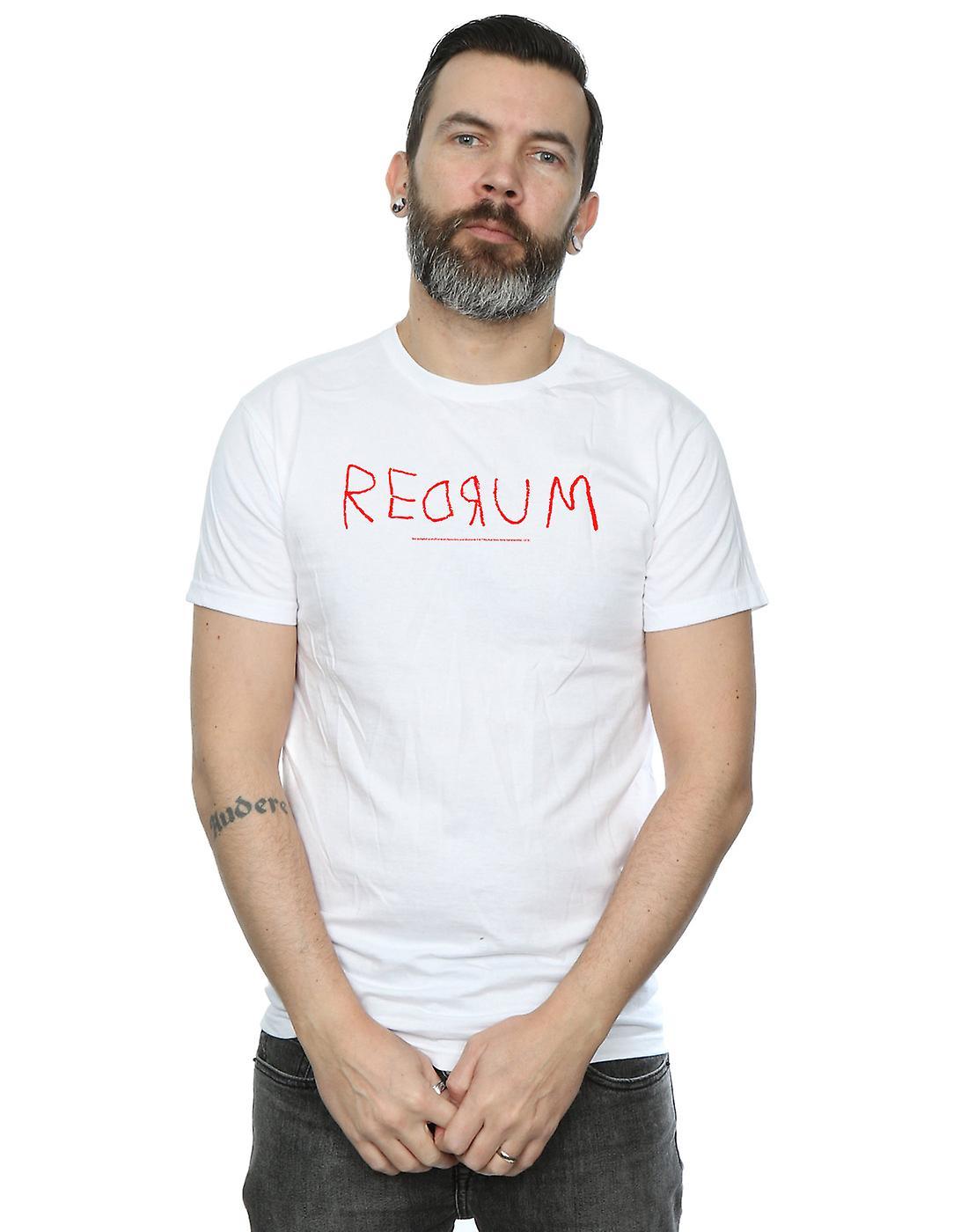 The Shining Men's Redrum Text T-Shirt