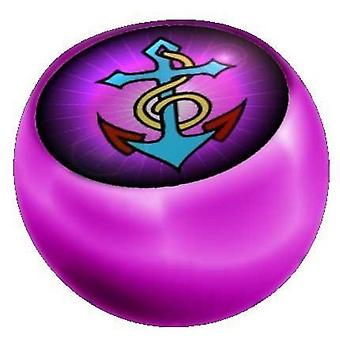 Lävistyksiä korvaaminen pallo vaaleanpunainen, laitoksen korut ankkuri | 1,6 x 5 ja 6 mm