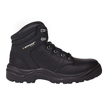 Stivali di sicurezza Dunlop Mens Dakota Lace Up ammortizzante Cap scarpe in acciaio