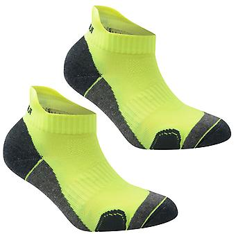 KARRIMOR Kids 2 Pack Running chaussettes Junior Anti odeur traitement confortable