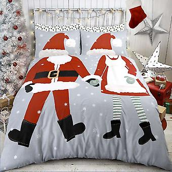 Pieridae Dress Up Christmas Duvet Cover Quilt Cover Bedding Set