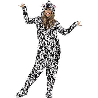 Zebra puku, keskipitkän