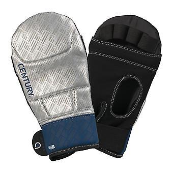 Jahrhundert mutige Bag Handschuhe Silber/Navy