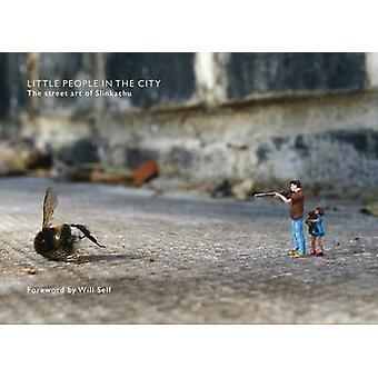 Pienet ihmiset City - kadulla Art Slinkachu (kokonaisuudessaan) b