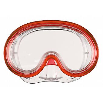 BECO Swimming Mask & Snorkel Set - Red - for Children 8+ years