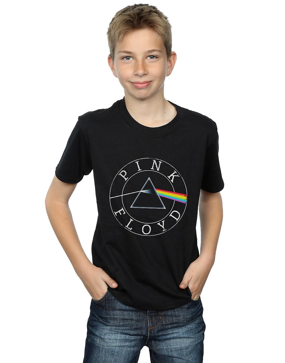 Pink Floyd Boys Prism Circle Logo T-Shirt