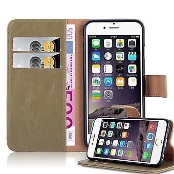 Cadorabo Case voor Apple iPhone 6/iPhone 6S Case cover-telefoon geval met magnetische sluiting, stand functie en kaart geval-Case cover geval geval geval boek vouwen stijl