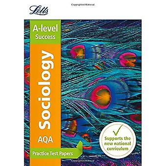 AQA A-niveau sociologie praktijk Test Papers (Letts A-niveau praktijk test papers - nieuw Curriculum)