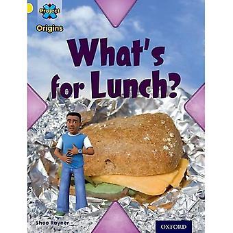 Origines du projet X: Livre jaune bande, Oxford niveau 3: alimentaire: ce qui est pour le déjeuner? (Ort)