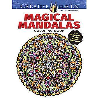 Mandala magica oasi creativa libro da colorare: Dell'illustratore dei Best-Seller Mandala mistico (Creative...