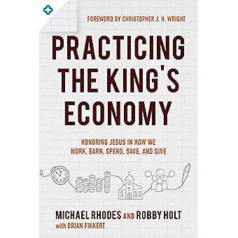 Het beoefenen van de King's economie