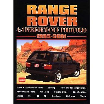 Range Rover 4 x 4 prestaties Portfolio 1995-2001 (Brooklands boeken weg testreeks)
