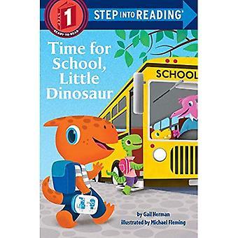 Tempo per la scuola, piccolo dinosauro (passaggio in lettura)