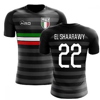 2018-2019 Italien dritte Konzept Fußballtrikot (El Shaarawy 22)