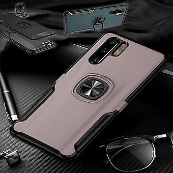 For Samsung Galaxy A50 A505F/A30s A307F Magnet Metal Ring Hybrid Case Pink Case Cover Case Protection