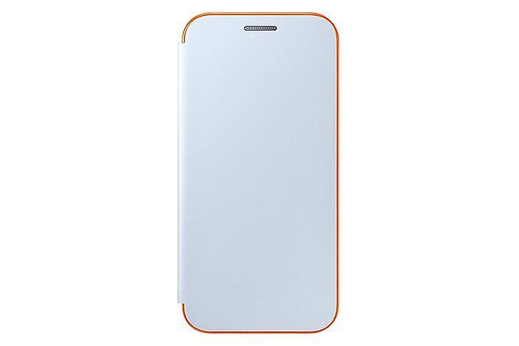 Samsung EF-FA320PLE neon flip cover case blue for Galaxy A3 2017