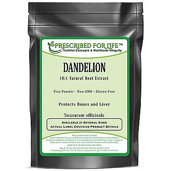 Dandelion - 10:1 Natural Root Fine Powder Extract (Taraxacum officinale)