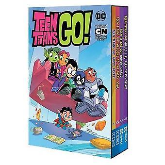 Teen Titans Go! Boxset by Sholly Fisch - 9781401283599 Book