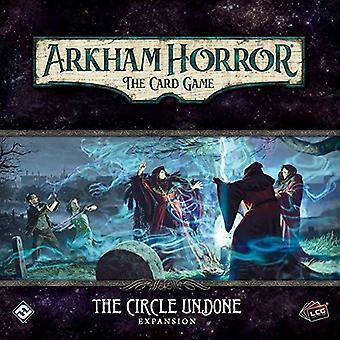 O círculo undone Arkham horror LCG pacote de expansão