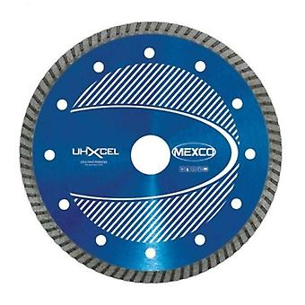 Mexco 200Mm Ultra harde materialen Xcel Grade Diamond Blade