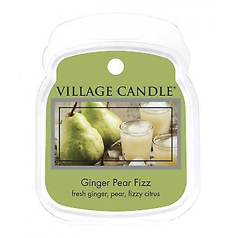 Village Candle Wax Melt Packs For Use with Melt Tart & Oil Burners Ginger Pear Fizz