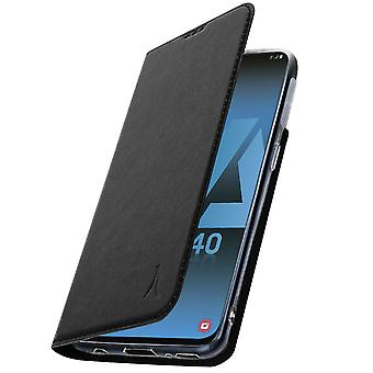 Galaxy A40 Protective Case Video holder Card holder Akashi Black