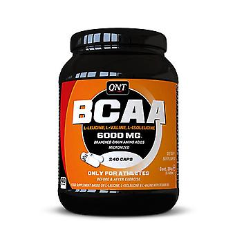QNT BCAA 6000 Athlete Enhanced Energy & Recovery Amino Acid - 240 Caps