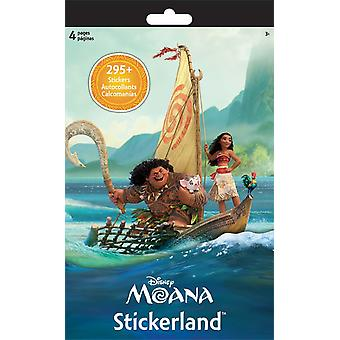 Stickerland Pad - Disney Moana - 4 pages Toys Gifts Stationery New st5273