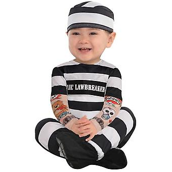 Amscan Prisoner Costume (Babies and Children , Costumes)