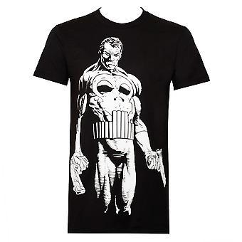 Punisher iso mitään miesten ' s musta T-paita